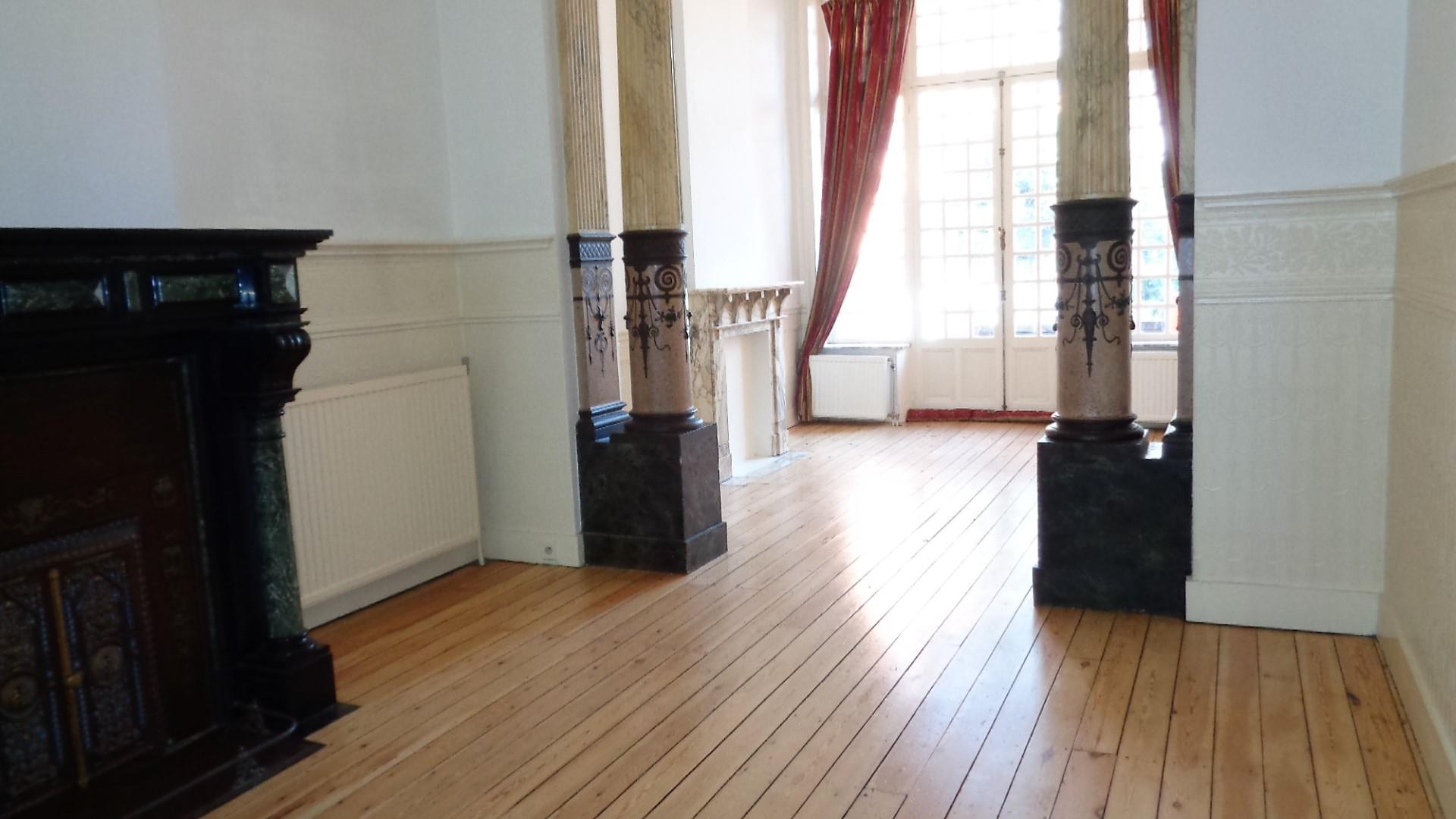 Châtelain-Magnifique appartement de style avec jardin